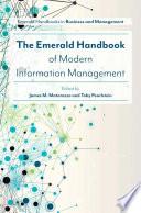 The Emerald Handbook of Modern Information Management