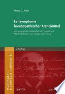 Meister.Leitsymptome homöopathischer Arzneimittel