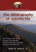 The Bibliography of Appalachia