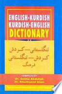 English-Kurdish, Kurdish-English Dictionary