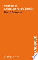 Handbook of Generalised Anxiety Disorder