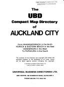The UBD Compact Map Directory of Auckland City