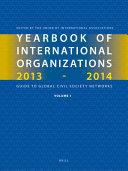 Yearbook Of International Organizations 2013 2014