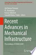 Recent Advances in Mechanical Infrastructure