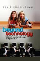 Pdf Beyond Technology