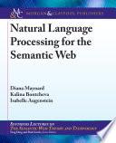 Natural Language Processing For The Semantic Web Book PDF