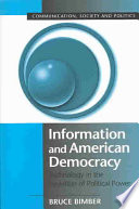 Information And American Democracy Book PDF