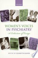 Women S Voices In Psychiatry