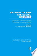Rationality And The Social Sciences Rle Social Theory