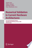 Numerical Validation in Current Hardware Architectures Book