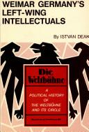 Weimar Germany's Left-wing Intellectuals
