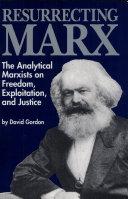 Pdf Resurrecting Marx