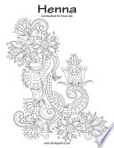 Henna Coloring Book for Grown Ups 1
