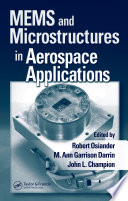 MEMS and Microstructures in Aerospace Applications Book