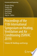 Proceedings Of The 11th International Symposium On Heating Ventilation And Air Conditioning Ishvac 2019  Book PDF