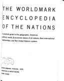 The Worldmark Encyclopedia Of The Nations