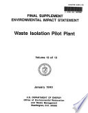 Waste Isolation Pilot Plant  Construction