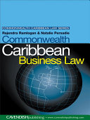 Pdf Commonwealth Caribbean Business Law Telecharger