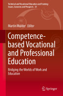 Pdf Competence-based Vocational and Professional Education
