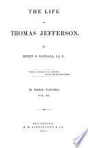 The Life of Thomas Jefferson Book