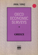 OECD Economic Surveys Greece 1991 1992