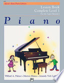 Alfred s Basic Piano Course  Lesson Book Complete 1  1A 1B  Book