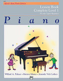 Alfred's Basic Piano Course: Lesson Book Complete 1 (1A/1B)