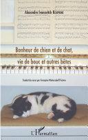 Pdf Bonheur de chien et de chat, vie de bouc et autres bêtes Telecharger