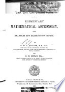 Elementary Mathematical Astronomy