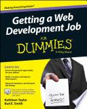 List of Dummies Web Development E-book