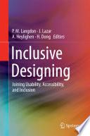 Inclusive Designing Book
