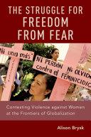 The Struggle for Freedom from Fear Pdf/ePub eBook