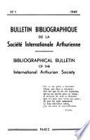 Bulletin Bibliographique De La Soci T Internationale Arthurienne