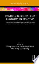 COVID 19  Business  and Economy in Malaysia