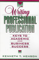 Writing for Professional Publication