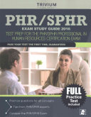 Phr / Sphr Exam Study Guide 2016
