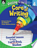 Getting To The Core Of Writing Level 4