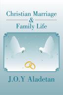 Christian Marriage & Family Life Pdf/ePub eBook