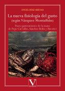 Pdf La nueva fisiología del gusto (según Vázquez Montalbán) Telecharger