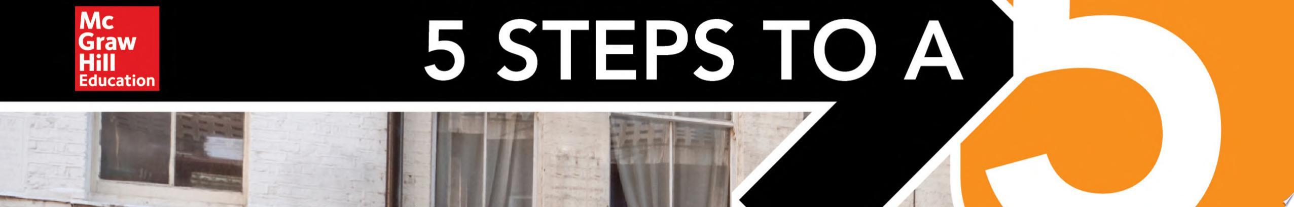 5 Steps to a 5  AP English Language 2019 Elite Student edition