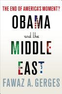 Obama and the Middle East Pdf/ePub eBook