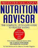 Prevention Magazine s Nutrition Advisor