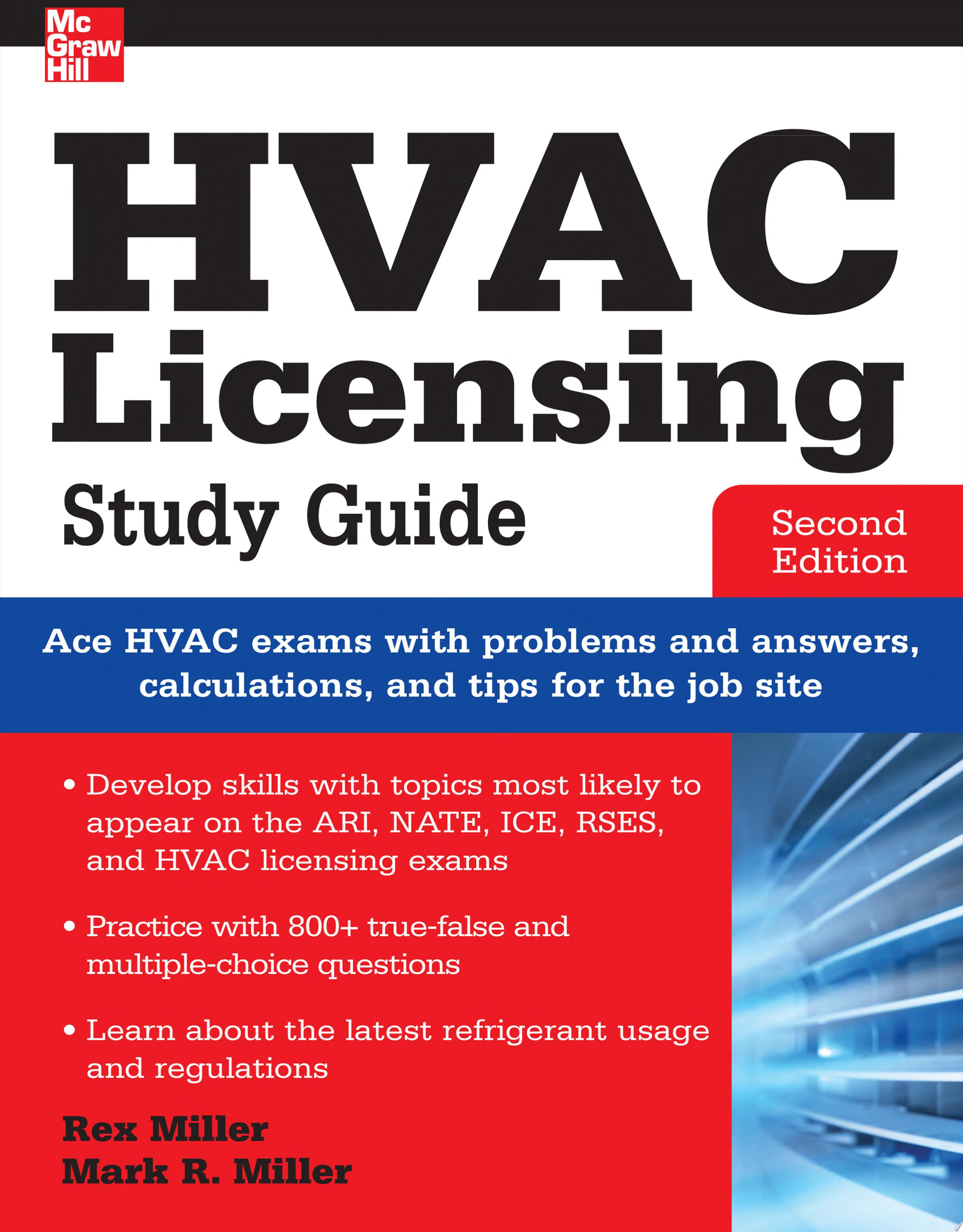HVAC Licensing Study Guide  Second Edition