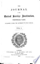 Journal of the Royal United Service Institution  Whitehall Yard Book