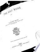 The Holy Rose  Etc Book