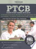 PTCB Exam Study Guide 2015-2016