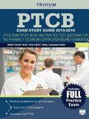 PTCB Exam Study Guide 2015 2016