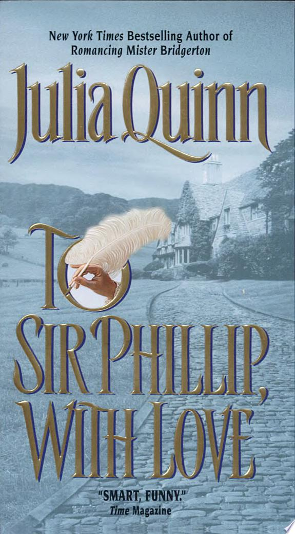 To Sir Phillip, With Love banner backdrop