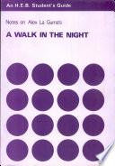 A Walk in the Night Book