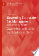 Governing Corporate Tax Management